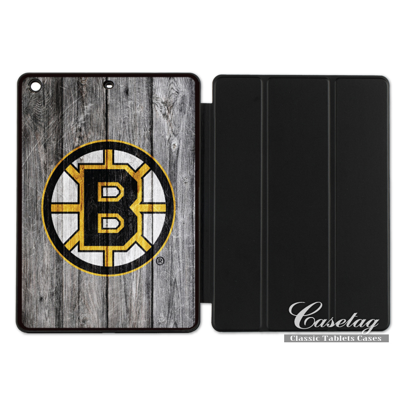 Boston Bruins Ice Hockey Sport Smart Cover Case For Apple iPad 2 3 4 Mini Air 1 Pro 9.7 10.5 12.9 New 2017 a1822
