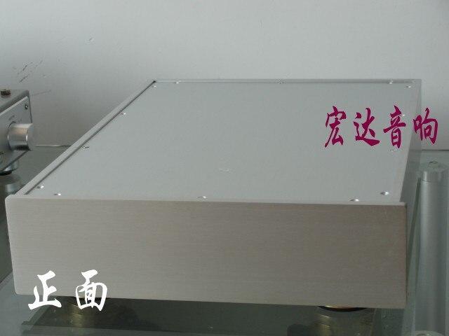 Châssis d'amplificateur de Tube 300B/châssis d'amplificateur arrière/châssis d'amplificateur de puissance en aluminium/boîtier d'amplificateur de boîtier/boîte d'amplificateur de bricolage (320*85*420mm)
