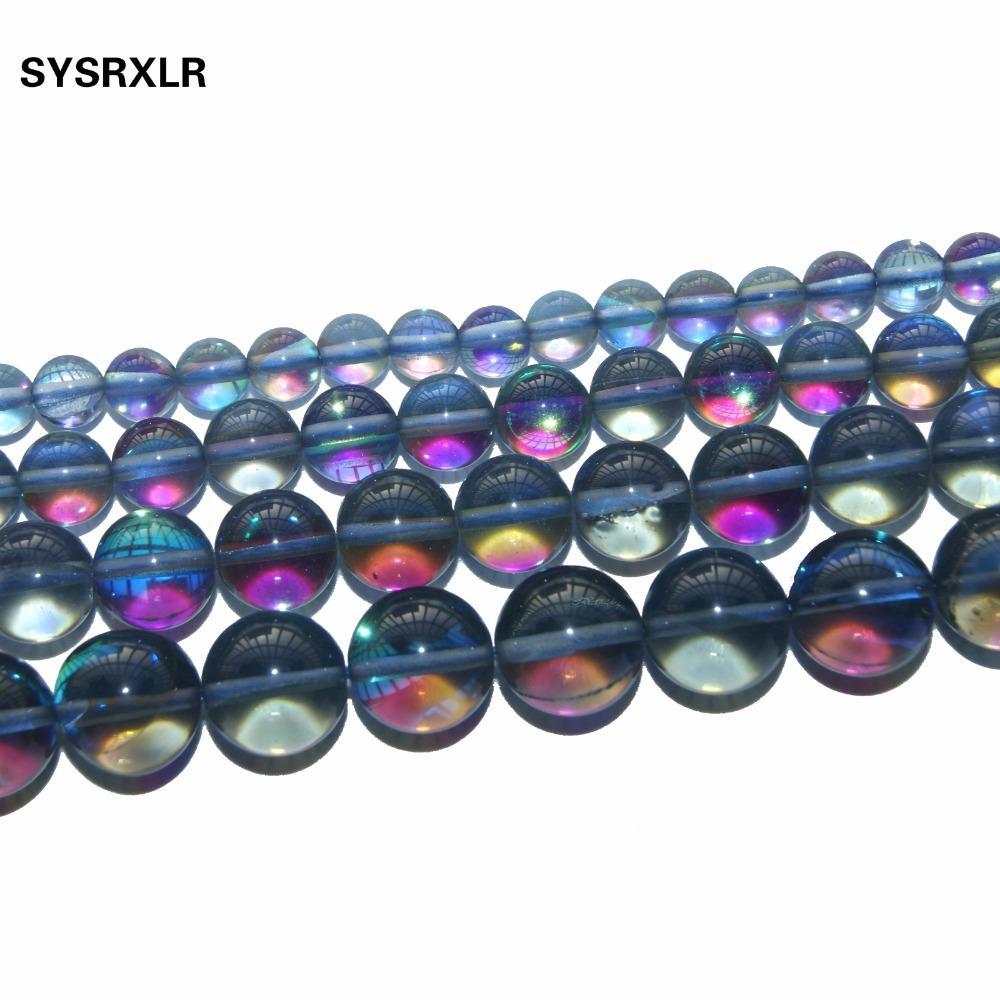 Wholesale Aaa Natural Gray Crystal Of Rock Quartz Stone Beads For Jewelry Making Diy Bracelet Necklace 6 8 10 12 MM in Beads from Jewelry Accessories