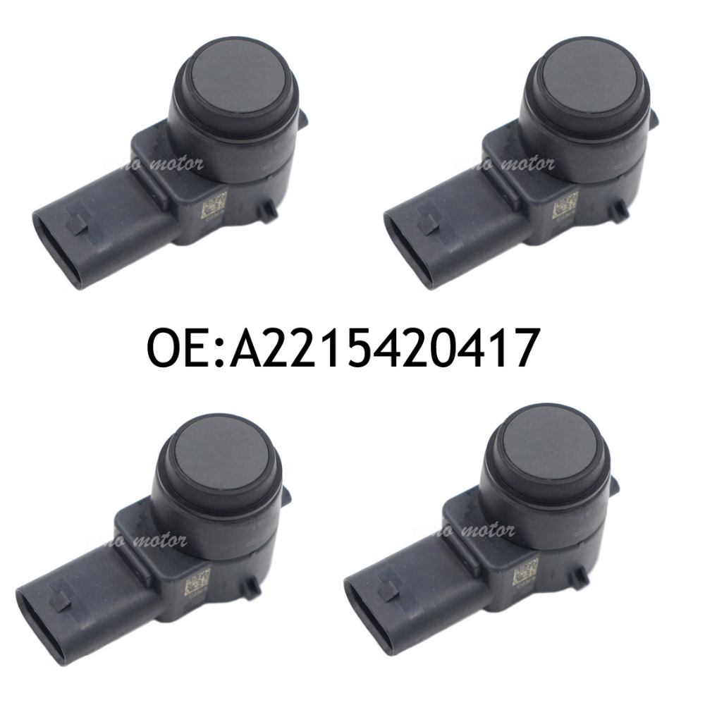 4pcs parking aid sensor pdc backup fits for mercedes benz for Mercedes benz parking sensors