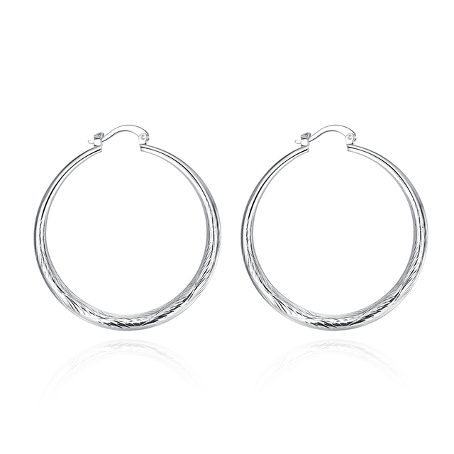 E292 Whole Silver Men S Earrings Jewelry Body Bohemia Penntes Cute