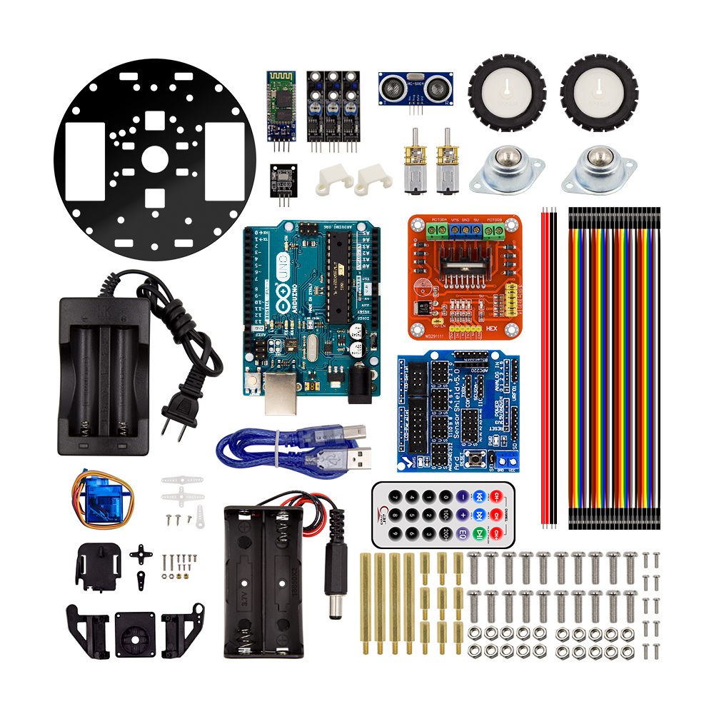 arduino project kits Open-source electronic prototyping platform enabling users to create interactive electronic objects.