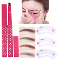Makeup Set Eyebrow Pencil Lasting Waterproof Automatic Eye brow Brow Class Drawing Guide Eyebrow Stencil Card Template Assistant