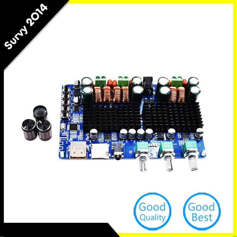 Digital 2.1 Channel Amplifier Board Bluetooth USB Input 50W+50W Stereo 100WDigital 2.1 Channel Amplifier Board Bluetooth USB Input 50W+50W Stereo 100W