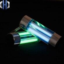 Кольцо для ключей Tritium Tube двойное кольцо для ключей Tritium трубка самоосвещающаяся флуоресцентная палка световая палка EDC
