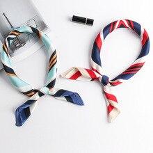 Fashion Silk scarf female summer sunscreen women scarfs silk scarves occupation small