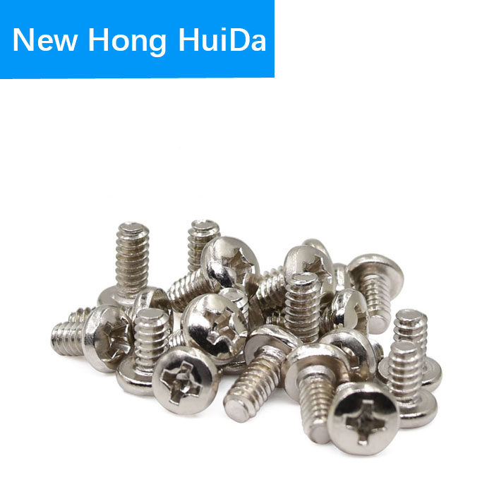 6 32x6 External Hex Machine Screw Thread PC Toothed Computer Case Hard Drive Floppy DVD ROM Motherboard Mounting Bolt M3 5 in Screws from Home Improvement