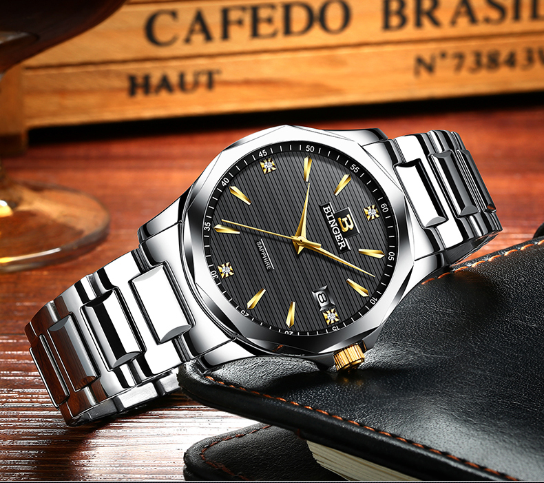 Золотые металлические дизайнерские часы, светящийся Топ, качественные домашние декоративные часы, настенные часы с соответствующими логот... - 3
