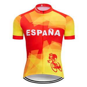 Image 3 - 2020 Summer Spain Cycling Jersey Set MTB Uniform Bicycle Clothing Bike Clothes Wear Mens Short Maillot Culotte Sports Suit