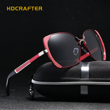 New HDCRAFTER polarized sunglasses women brand