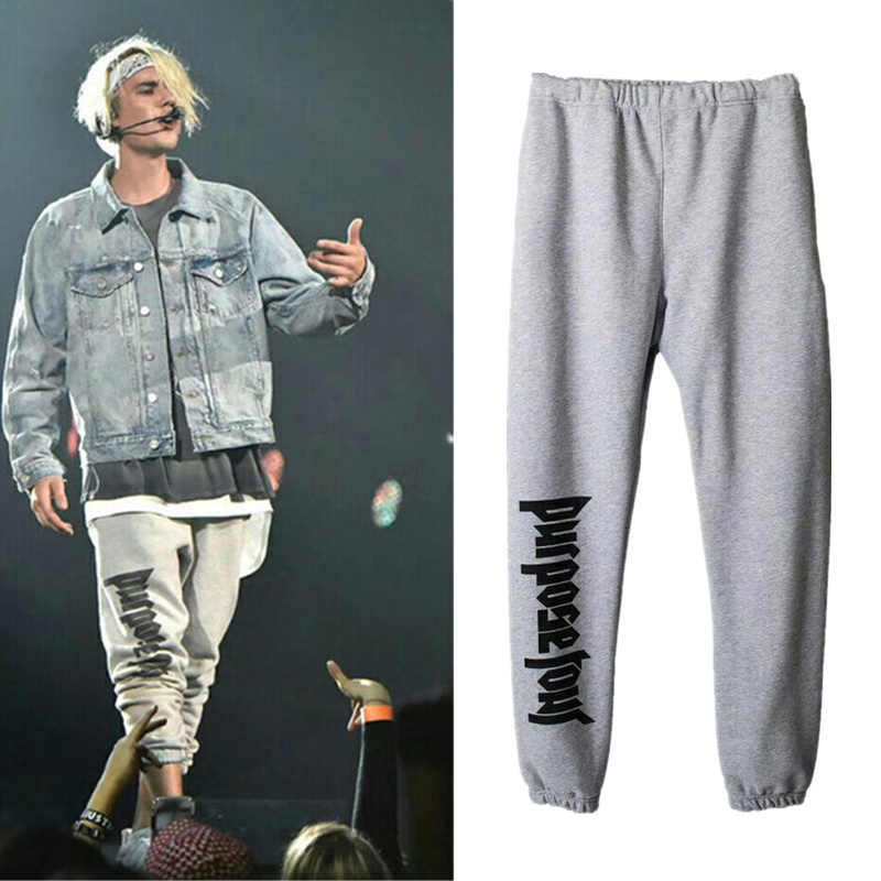Purpose Tour Sweatpants Women Men 1:1 High Quality Justin Bieber Drawstring Joggers Sweat Pants Purpose Tour Sweatpants