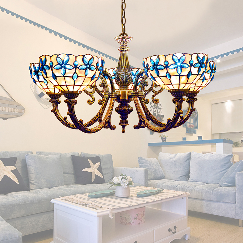 Ceiling Lamp Shades For Living Room: Popular Tiffany Chandelier Shades-Buy Cheap Tiffany