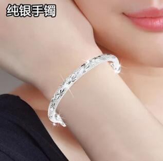 925 Sterling silver bracelet jewelry gift wild925 Sterling silver bracelet jewelry gift wild