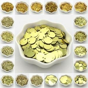Paillettes 3-30mm Gold Sequin