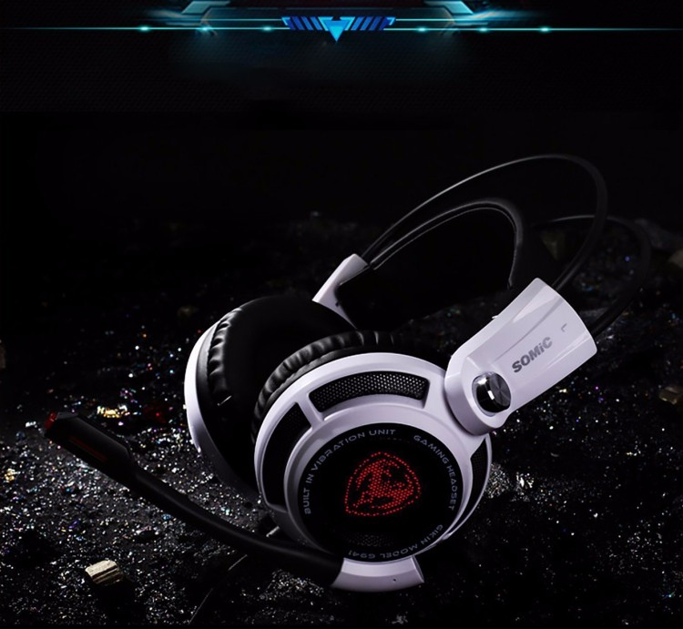 Gaming Headphones Somic G941 USB Game Headset  With Microphone 7.1 Surround Sound Effect Vibrating Function For PC Gamer (1)