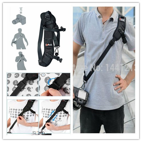 Digital SLR Camera Quick Strap Quick Rapid Shoot Strap Shoulder Strap For Nikon For Olympus For Canon For Sony Panasonic GoPro