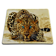 Anime Leopard Fast Printing Custom Mouse Mat High Quality Skid Durable Computer and Laptop Mouse Pad 18*22cm 20*25cm 25*29cm