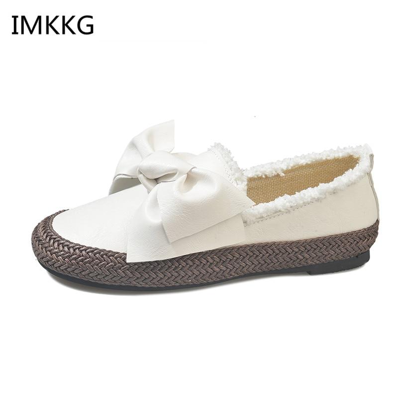 blanc Chaussure De Dames Zapatos Femme Chaussures Papillon A790 Femmes Bout Med Mujer Rond Sapato Nouveau Bonbons Talons Casual Mode marron Noir w1BSxSqR
