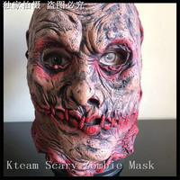 Halloween Zombie Demon Full Face Mask Latex Devils Scary Mask Halloween Prank Prop For Costume Masquerade
