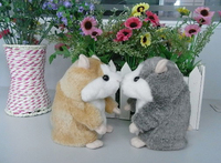 Talking Hamster plush toy,head moving hamster Talking Animal repeat words,Original Packing for gift,2 color 2PCS/SET
