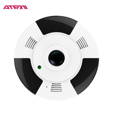 ATFMI Q3 H264 1.3MP IP Camera view 180/360 Degree Panoramic Night Vision IR 10m Indoor Network P2P Security Camera Pet Monitor