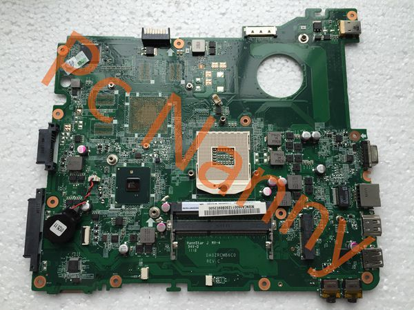 Original MBNCA06001 DA0ZRCMB6C0 laptop Motherboard Main Board for ACER eMachines E732 Integrated HM55 DDR3 High quality motherboard for acer aspire 7339 7739 emachines e729 e729z mbrn60p001 08n1 0nx3g00 aic70 main board 100% tested good