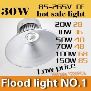 ФОТО All aluminum LED bay light series 20W Industrial Task Lighting  AC110-240V CE&ROHS Outdoor droplight free shipping