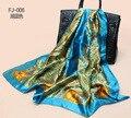 2015 Большой Размер Высокое Качество Шелковая Косынка Женщины Мода Горячие Марка Имитационные Шелковый Атлас Шали Шарфов Хиджаб Бесплатная Доставка