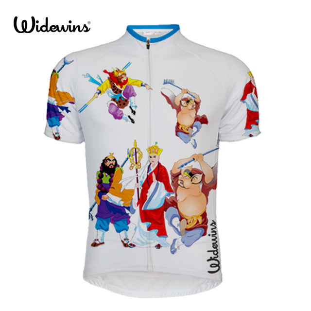 Man journey to the west bike wear white cycling jersey 2017 clothing pro  team racing riding funny summer short sleeve 5651 7d4af0f44
