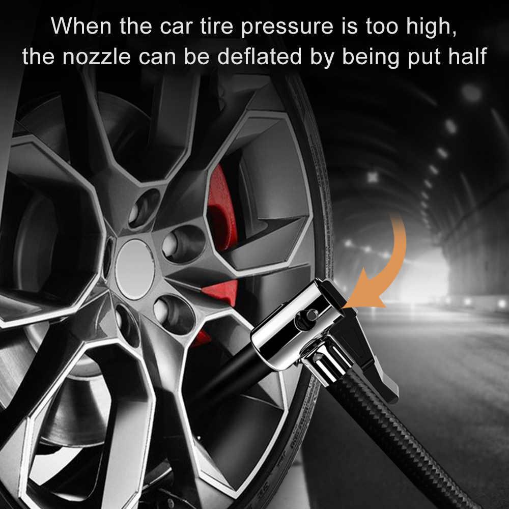 Compresor de neumáticos de coche bomba inflable inflador Digital de neumáticos eléctricos 12V compresores de aire neumáticos de coches para bicicleta de coche SUV barco