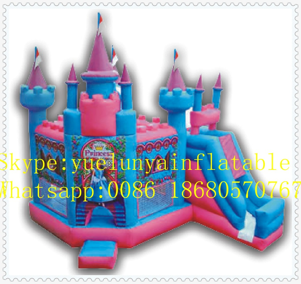 Factory direct Inflatable slide,Inflatable castle,Princess Castle Trampoline KYB-30 factory direct inflatable trampoline inflatable castle inflatable slide obstacle yly 0177