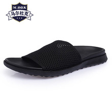 British retro summer cool drag thick bottom skid comfortable simple mens slippers beach shoes men Flip Flops casual outdoor