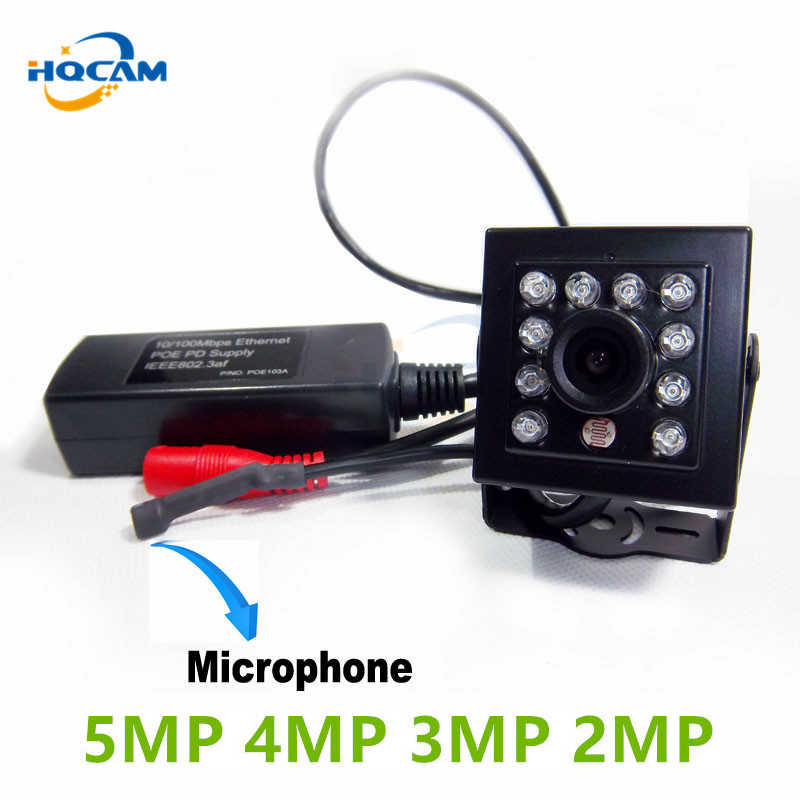 Hqcam Poe Ip Kamera 5MP HD 5MP 4MP 3MP 2MP ONVIF Indoor Inframerah 6 M Night Vision Security webcam Xmeye APP