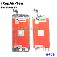 10PCS Grade AAA 4 7 Inch LCD For IPhone 6S Display Touch Screen With Digitizer Replacement