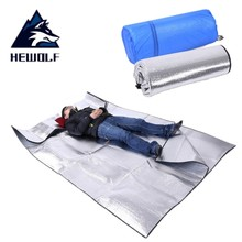 290*290 Cm Oversized Outdoor Camping Mat Foldable Sleeping Moistureproof Mat Pad Waterproof Aluminum Foil EVA Picnic Mattress
