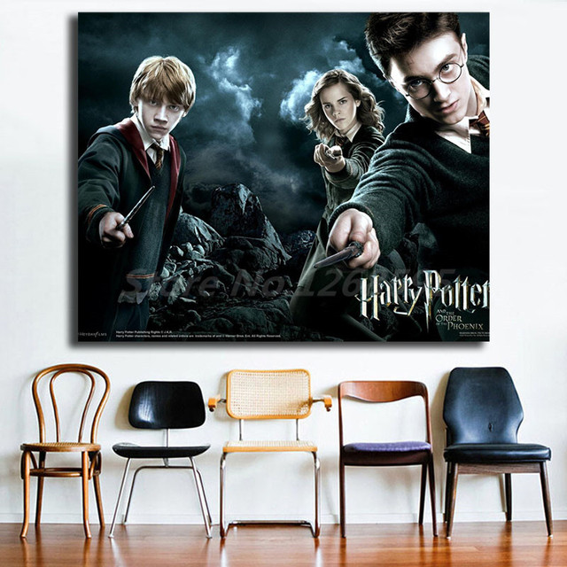 Harry Potter And The Order Of The Phoenix Wallpapers Art Canvas Poster Painting Wall Picture Print For Home Bedroom Decoration