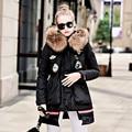 FANTFUR Real Fur Winter Jacket Women Hood Duck Down Coat 2017 New Big Raccoon Fur Collar Army Green Casual Long Slim Warm Parka