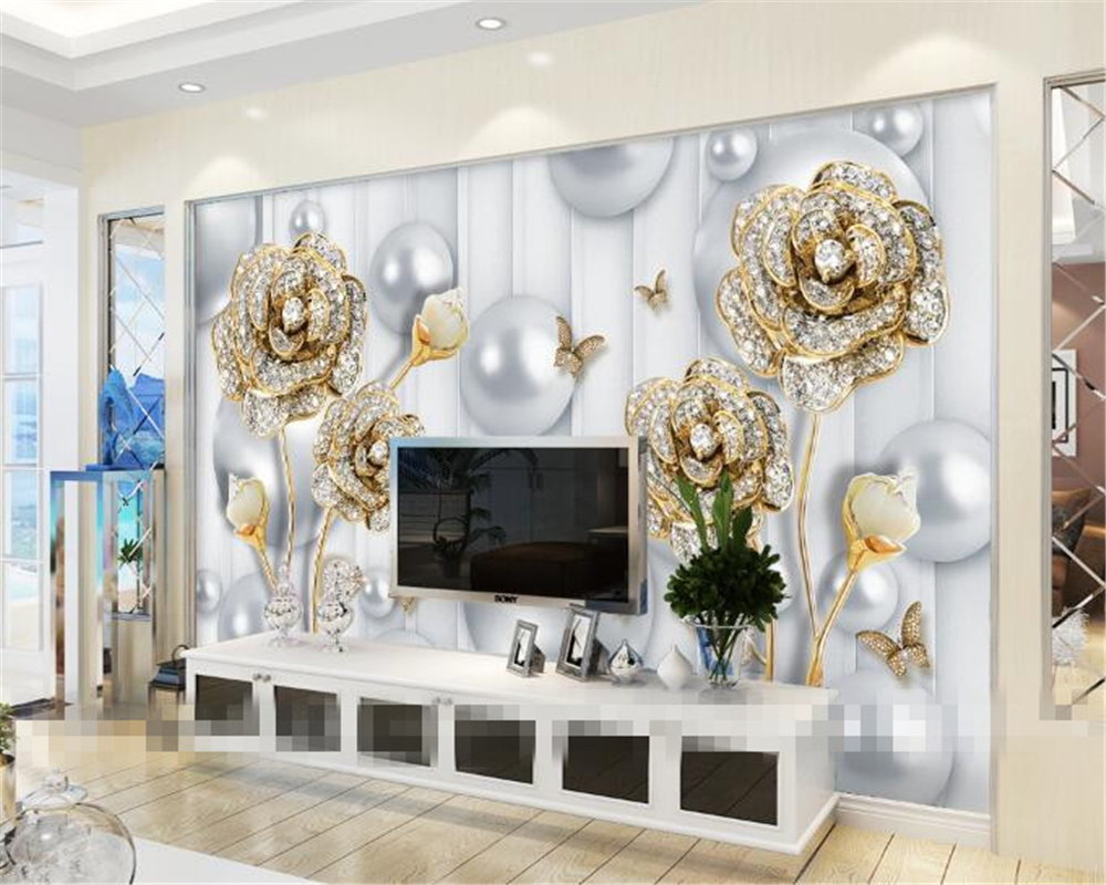papel de parede 3D wallpaper home decoration murals living room room ...