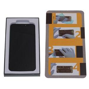 Image 3 - شاشة LCD جديدة لهاتف iPhone X XS XR مرنة متينة OLED LCD لهاتف iPhone X XS GX AMOLED شاشة ناعمة مع عدة إصلاح تعمل باللمس ثلاثية الأبعاد