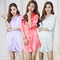 2017 NEW Fashion women men nightwear sexy sleepwear lingerie sleepshirts nightgowns sleeping dress good nightdress lover's wear