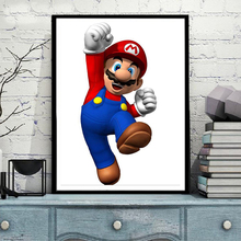 DIY Diamond Painting,Diamond Embroidery,Super Mario,Game poster,Full,Rhinestone,5D Diamond Mosaic,Decoration home,gift NEW238