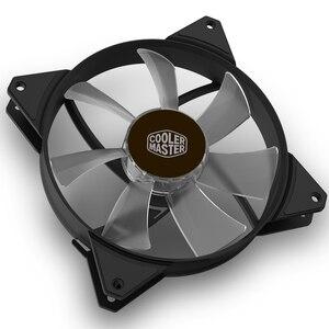 Image 5 - Cooler Master MF140R ARGB 14cm RGB 5V/3pin Computer Case silenzioso PWM Fan PC CPU Cooler radiatore raffreddamento ad acqua 140mm sostituisce le ventole