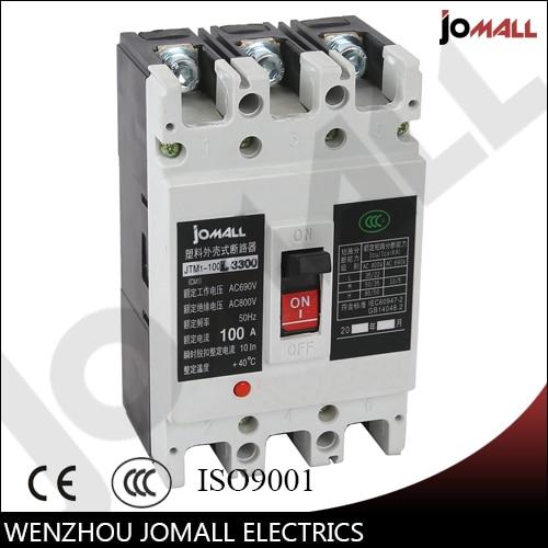 100 Amp 3 pole cm1 type Moulded case type circuit breaker mccb 400 amp 3 pole cm1 type moulded case type circuit breaker mccb