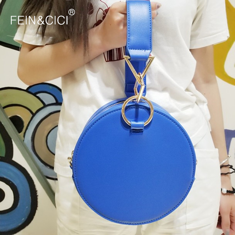 round totes bag cute circle bags women 2018 new small party handbag pink black yellow white blue color drop shipping wholesale free shipping new fashion pu black yellow pink candy color mini women simple cheap messange bags handbags bb015