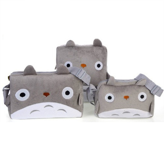 Studio Ghibli My Totoro Japan Anime Plush Bag Kids Boys Girls Messenger Hand Gift