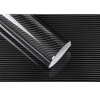 50CMx200CM High Glossy 6D Carbon Fiber Vinyl Wrapping Film Car Appearance decoration Motorcycle Tablet Stickers Car Styling
