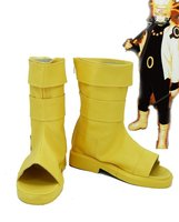 NARUTO Anime Uzumaki Naruto Cosplay Shoes Boots Custom Made Rikudousennin Modo
