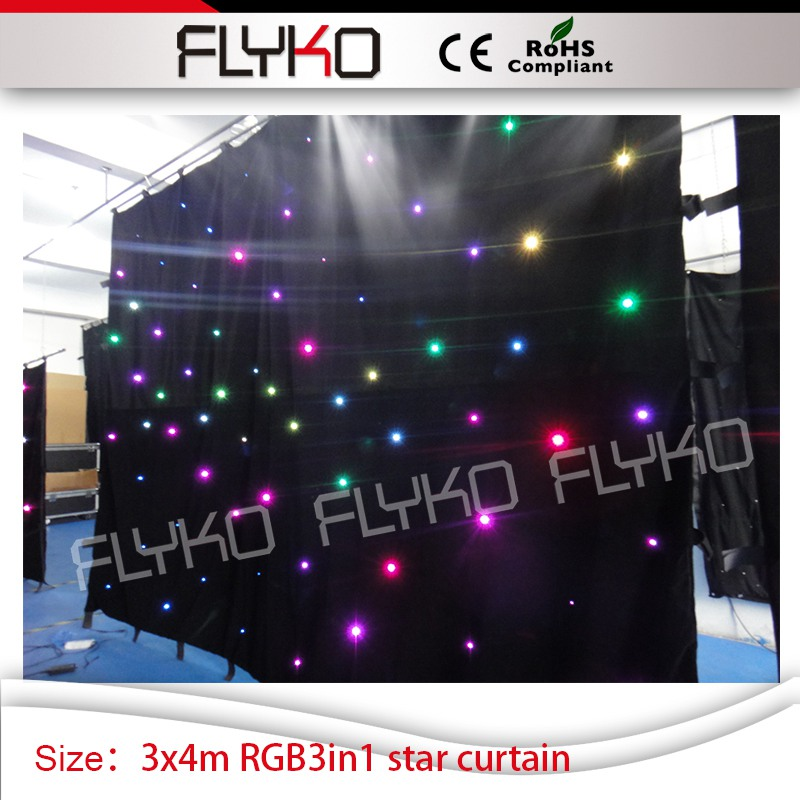 led RGB 3in1 stage star curtain dj decor 3x4m star curtain concert projectorled RGB 3in1 stage star curtain dj decor 3x4m star curtain concert projector