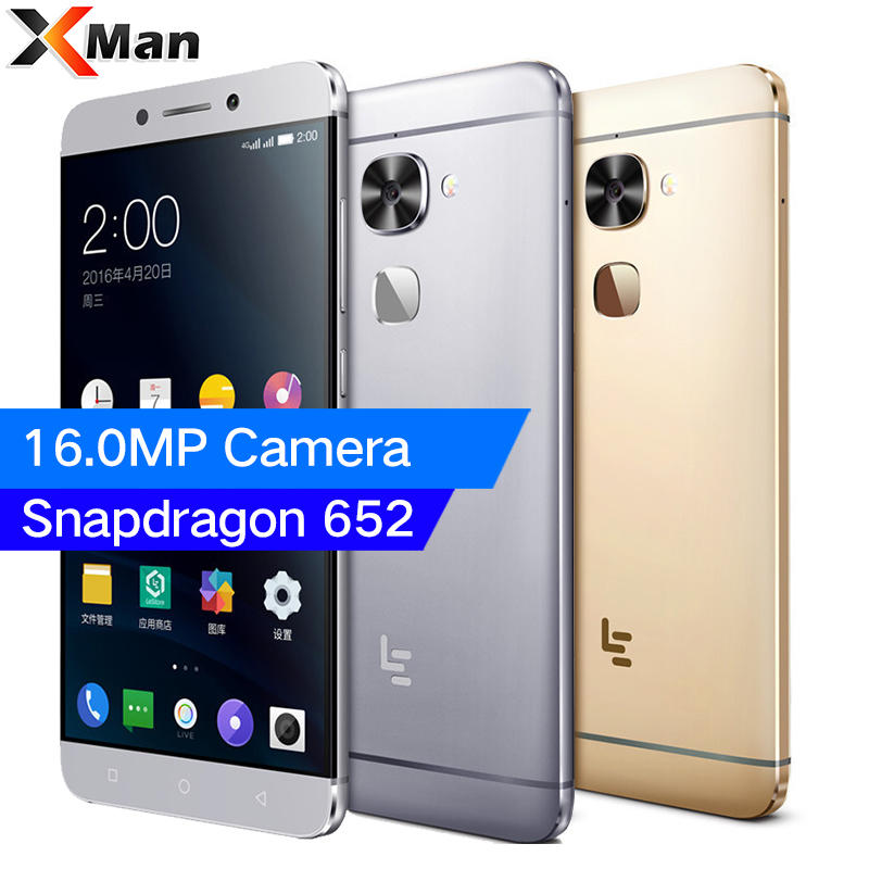 LeEco LeTV S3 Le 2 X522 Snapdragon 652 Octa Core 3GB RAM 32GB ROM 5.5 1080P Android 6.0 16.0MP Camera 4G LTE Smartphone