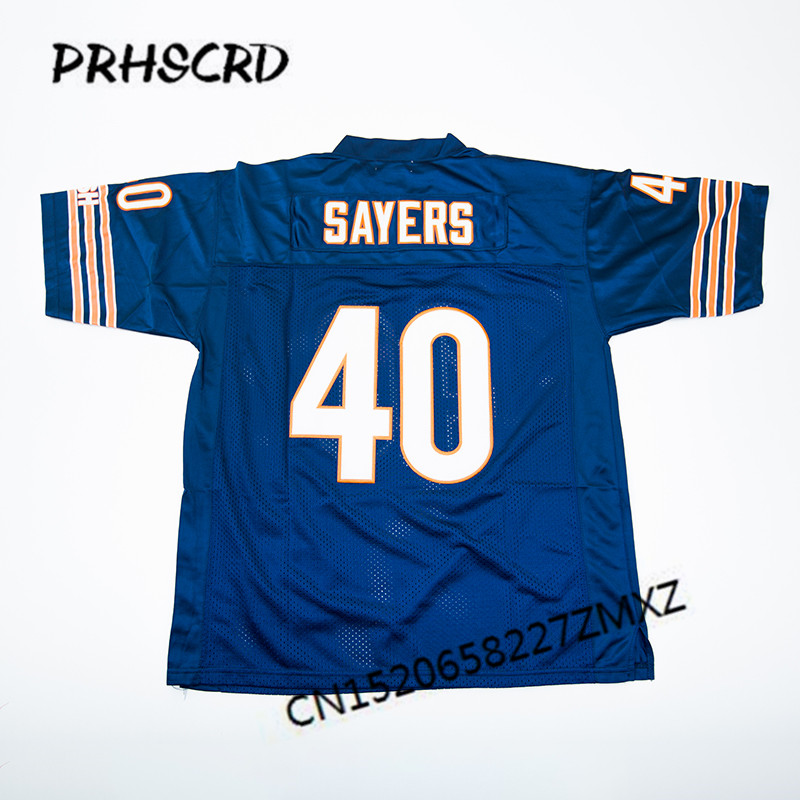 sale retailer 83a63 08ef8 US $29.99 |Retro star #40 Gale Sayers Embroidered Throwback Football  Jersey-in America Football Jerseys from Sports & Entertainment on  Aliexpress.com ...